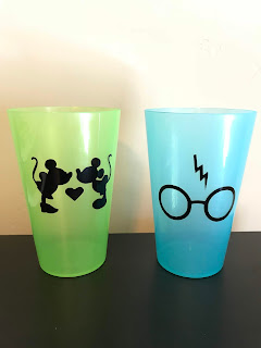 cups with decals
