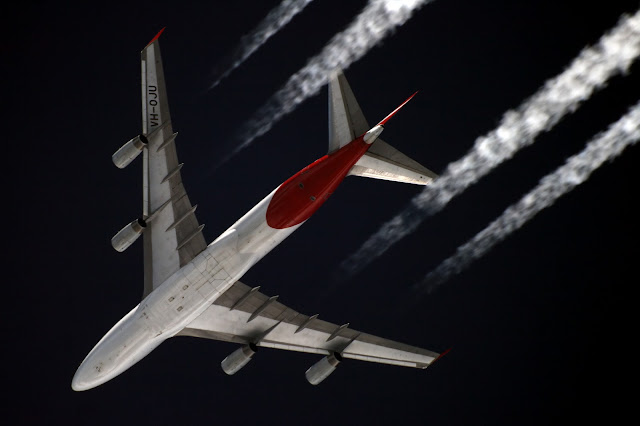Aircraft overspeed