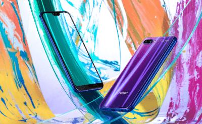 الجهاز يأتي بألوان و خلفية من الزجاج ثلاثي الأبعا 3D استعملت فيها تقنية طلاء النانو البصري