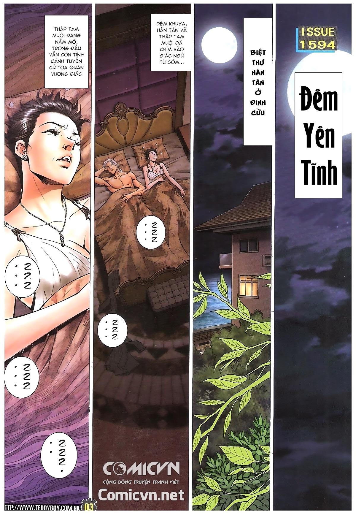 Người Trong Giang Hồ - Chapter 1594: Đêm yên tĩnh - Pic 2
