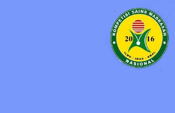 Juknis Kompetisi Sains Madrasah (KSM) tahun 2016