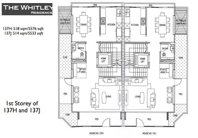 Whitley Residences Floor Plan1