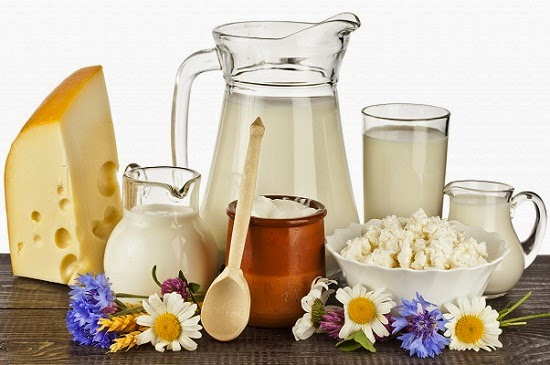 Dairy products Acne triggering food to avoid