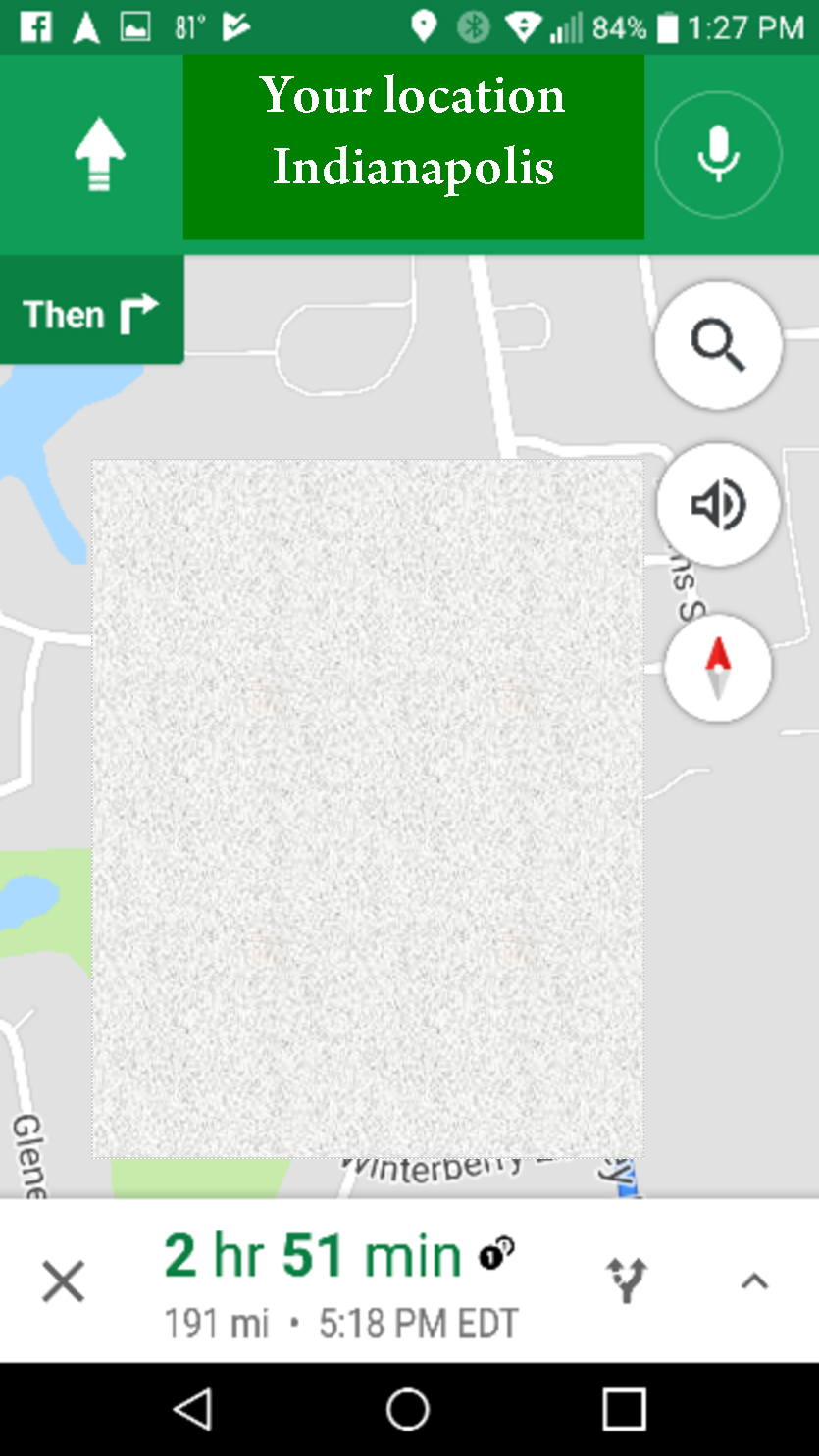no small feet: thank you google maps!