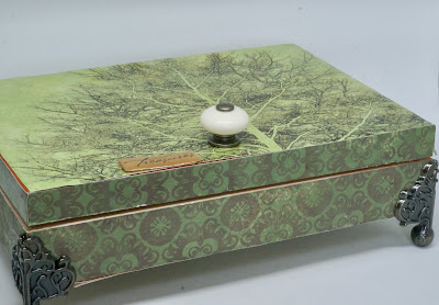 Finished Tree Inspired Box by BayMoonDesign