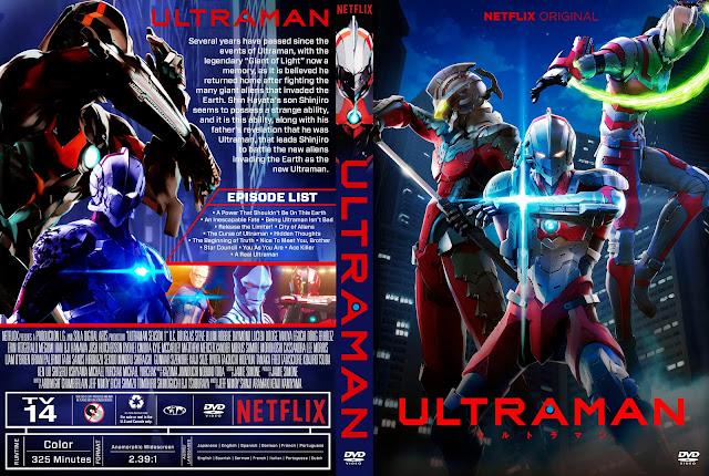 Ultraman Season 1 DVD Cover DVD Cover