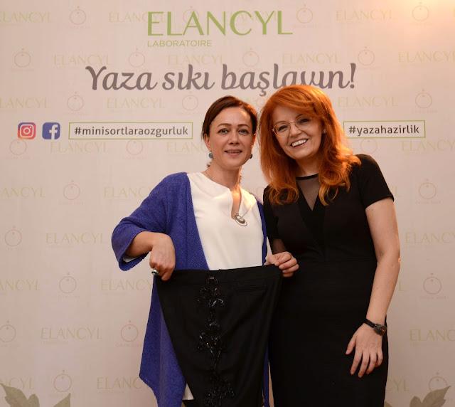 """Elancyl-Özlem Süer """"mini şortlara özgürlük"""" etkinliği"""