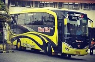 carter Bus Pariwisata PO. Wira-Wiri Trans Surabaya