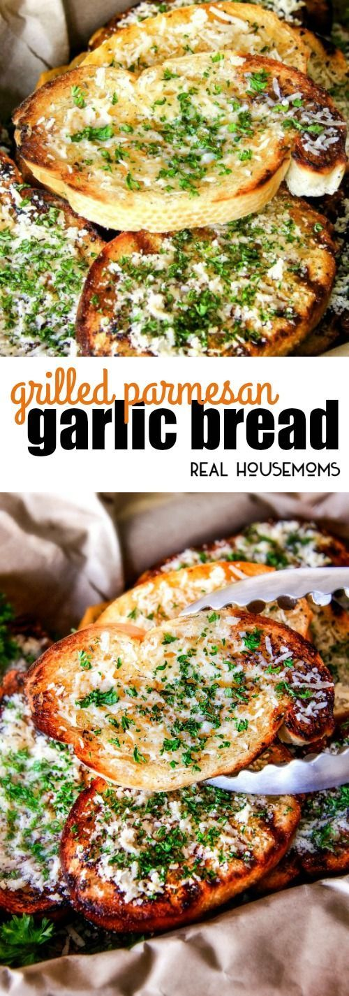 ★★★★☆ 4092 ratings     | GRILLED PARMESAN GARLIC BREAD #GRILLED #PARMESAN #GARLIC #BREAD #YUMMY