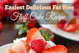 The Easiest Delicious Fat Free Fluff Cake