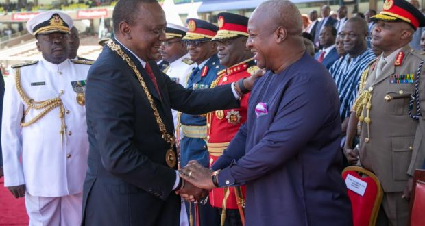Mahama Joins Kenyatta To Mark Kenya's Independence Day