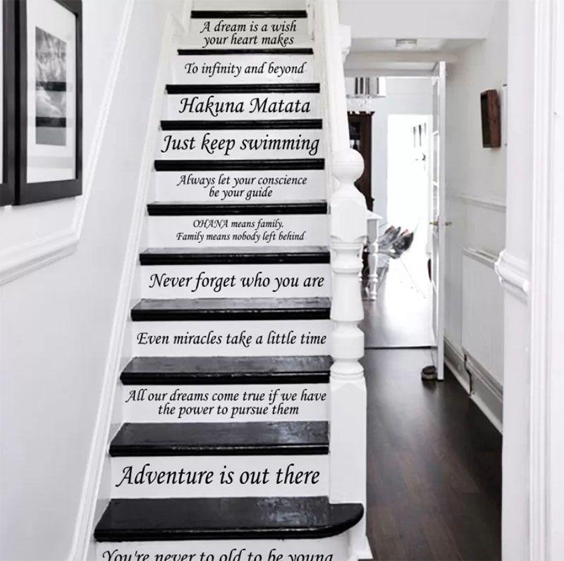Stairway Decals