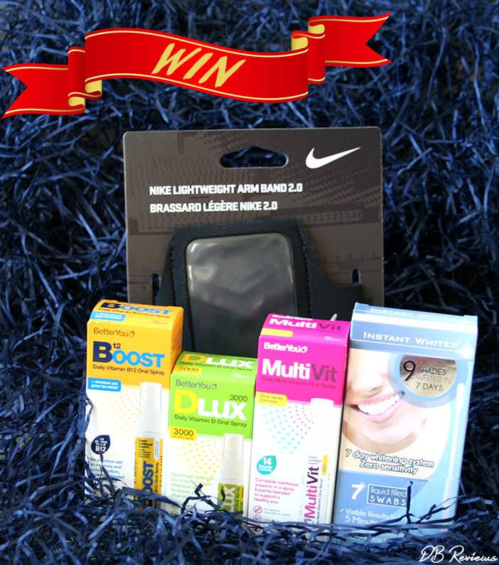 Win a wellness bundle  - giveaway