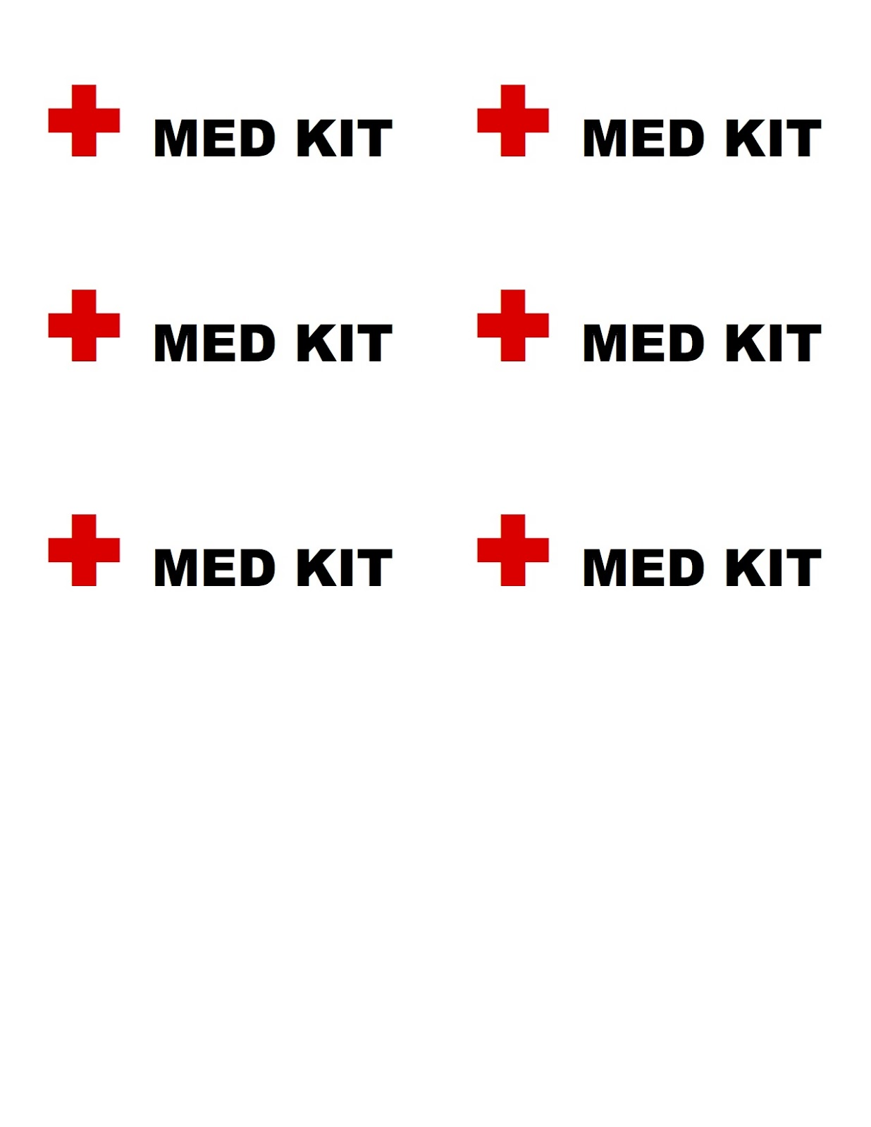 Right Where We Are: First Aid Travel Kit with FREE PRINTABLE
