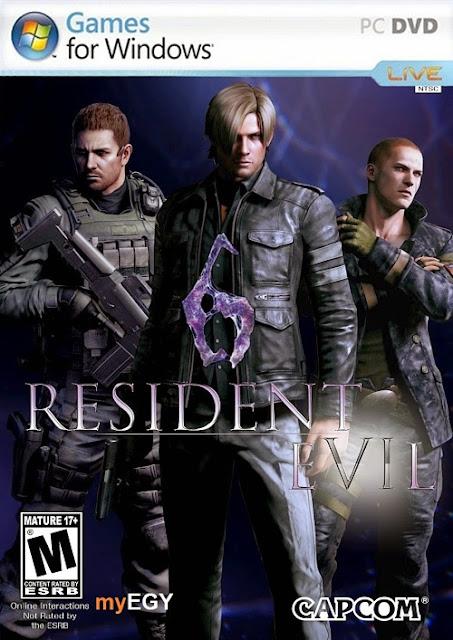 تحميل لعبه Resident Evil 6 Complete Pack 2013 للكمبيوتر برابط واحد مباشر