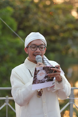 MC Kondang Eka Wahyu Prabowo sebagai pembawa acara Bukber
