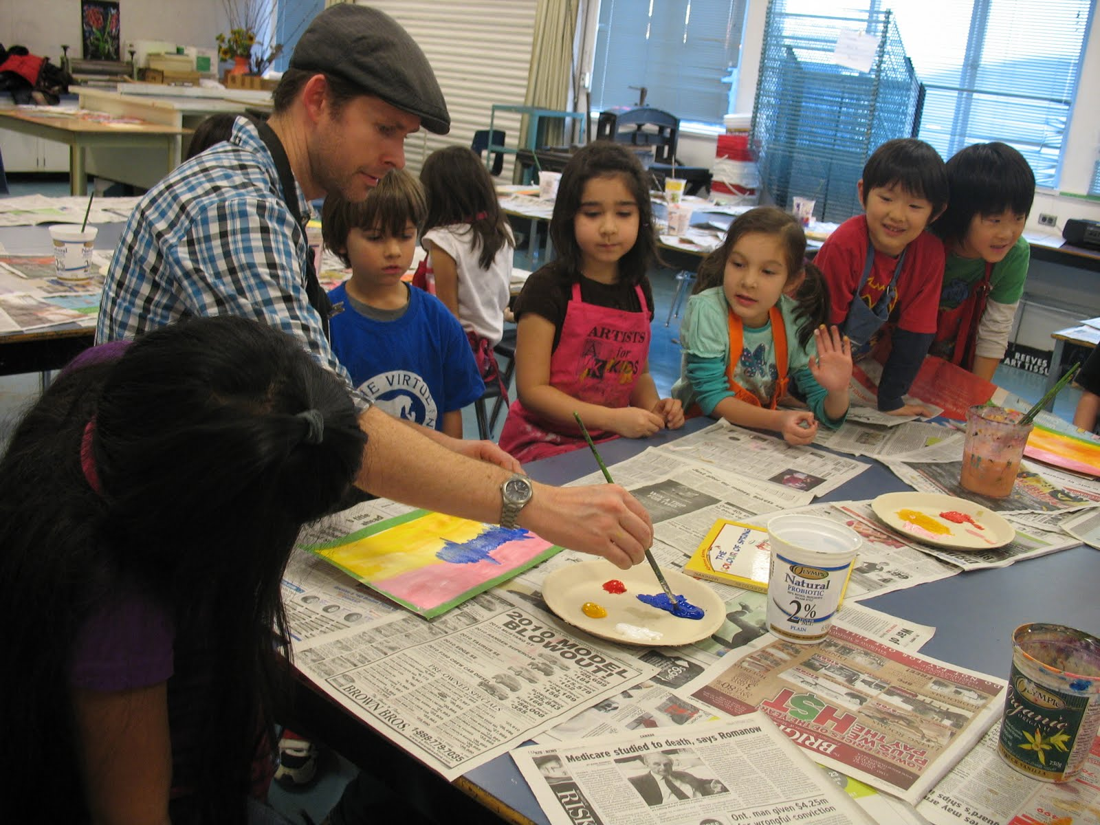 Artists For Kids After School Primarily Painting Class