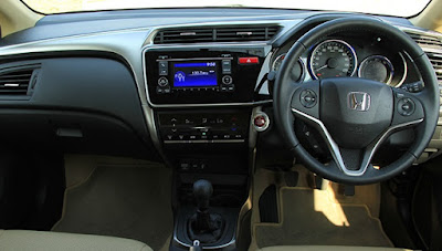 Interior Honda All New City Indonesia