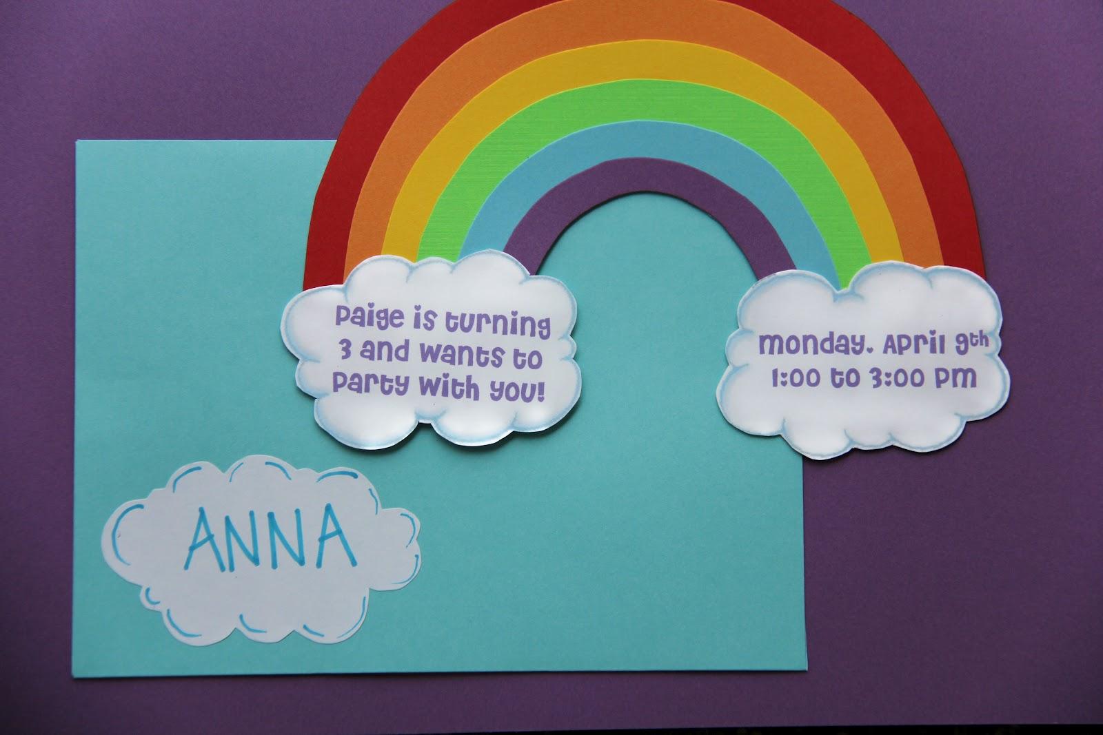 Sometimes Creative Rainbow Birthday Party