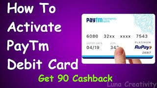 How To Activate Paytm Debit Card