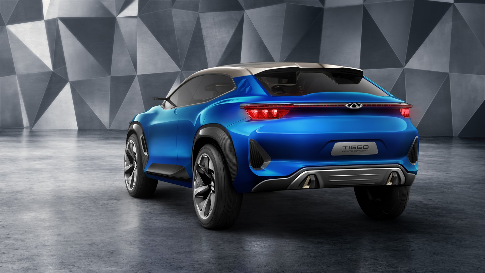 Chery Tiggo Sport Coupe Concept S Steering Doubles As Video Game Controller In Autonomous Mode