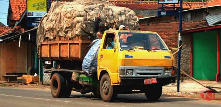 Jaring Truk Sampah, Supplier dan Distributor Pusat Grosir Jual Jala Pengaman Proyek