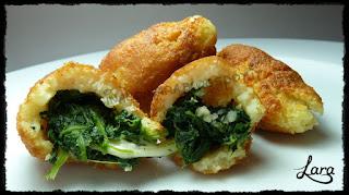 http://cucinaconlara.blogspot.it/2016/01/kibbeh-vegetariane-polpette-di-spinaci.html