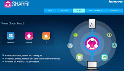 Download and Review SHAREit 3.5.0.1144  Freeware