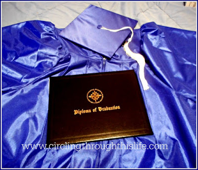 You can even get package set on a cap, gown and diploma!
