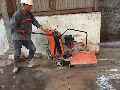 Khoan cắt bê tông tại phường Thạnh Xuân