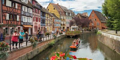Jelajah 5 Desa Bagai Negeri Dongeng di Perancis