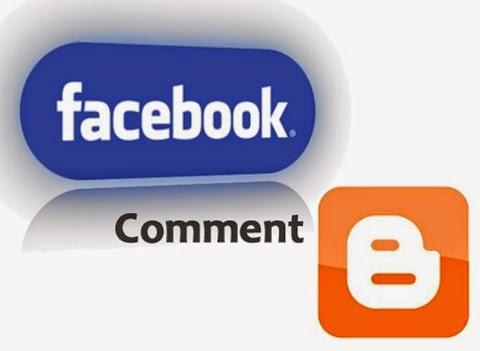 facebook comments box blogger