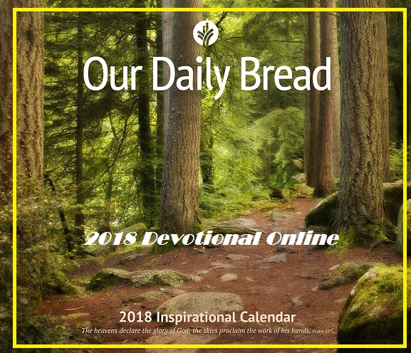 Our Daily Bread January 2018