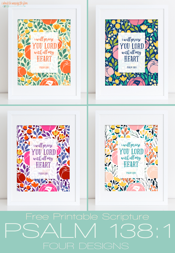 graphic relating to Printable Scripture referred to as i must be mopping the surface: Free of charge Scripture Printable