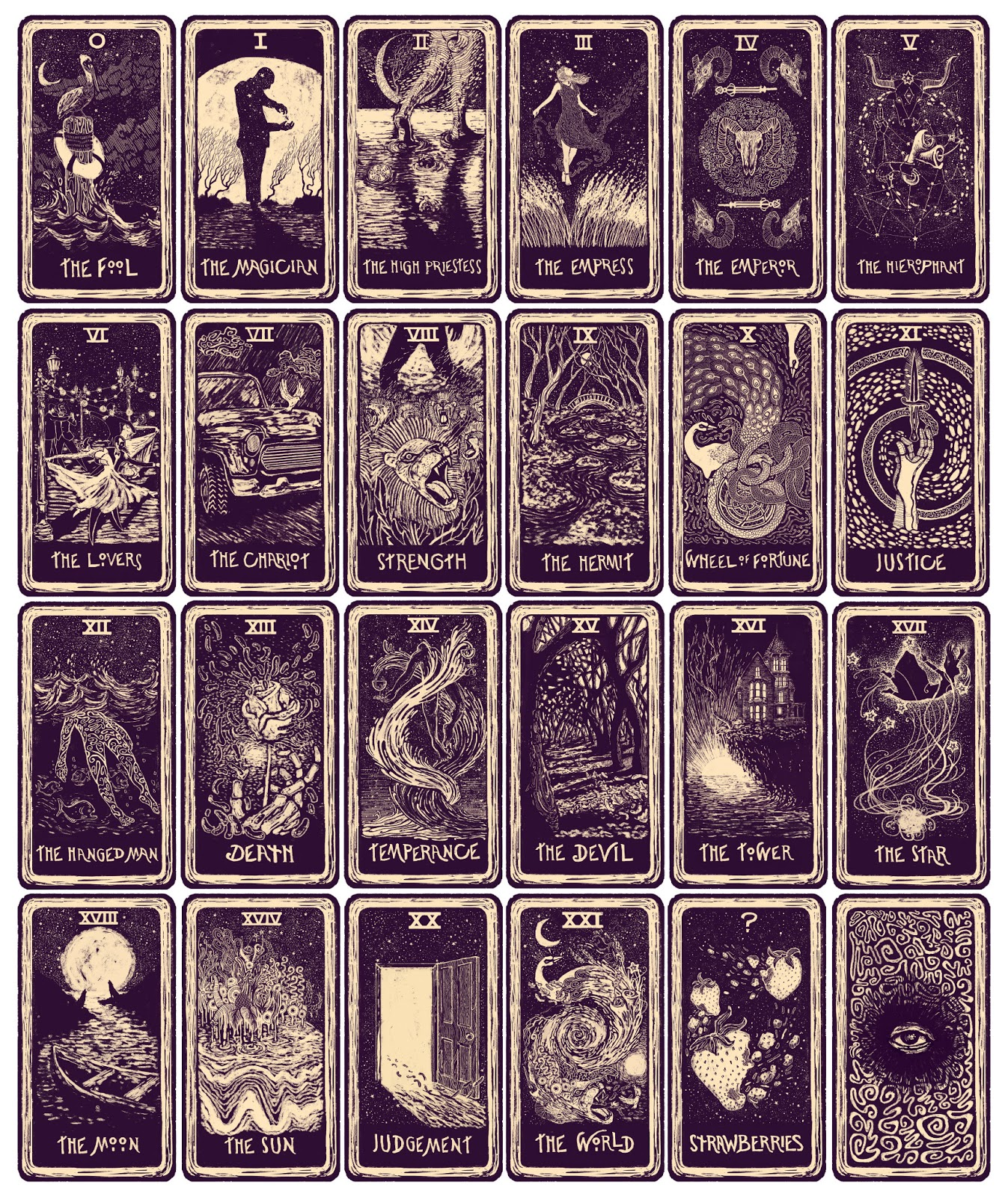 Eloquent image throughout free printable tarot card deck