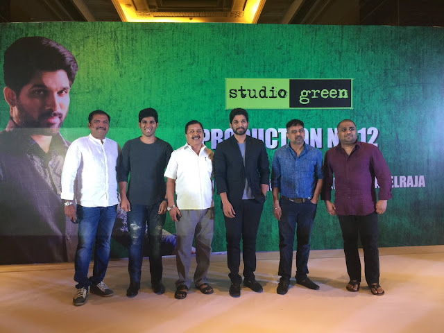 allu arjun tamil movie launch Stills