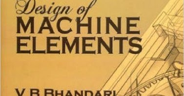 Design Of Machine Elements By Vb Bhandari Ebook