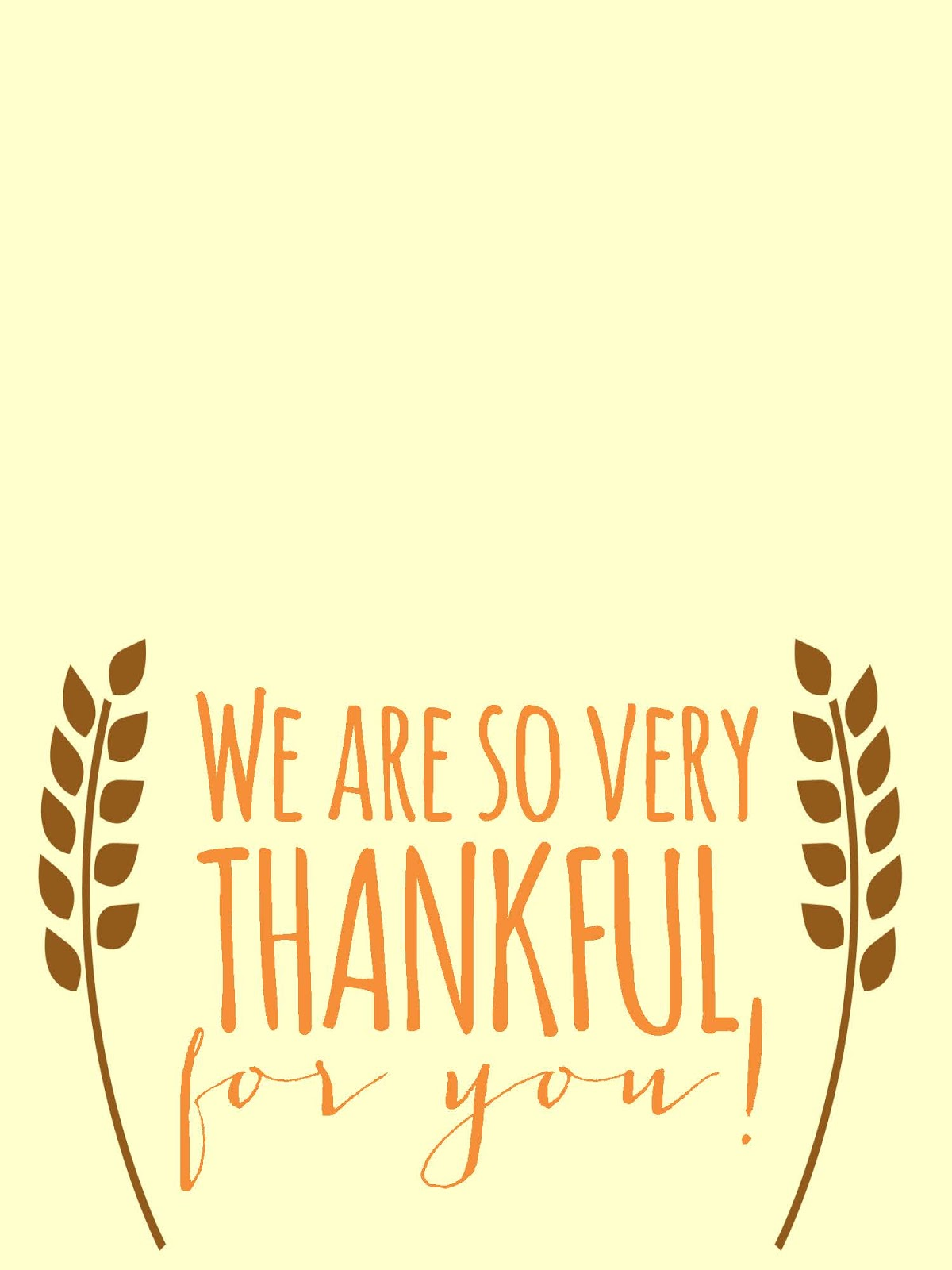 Sweet Blessings Thankful For You Printables