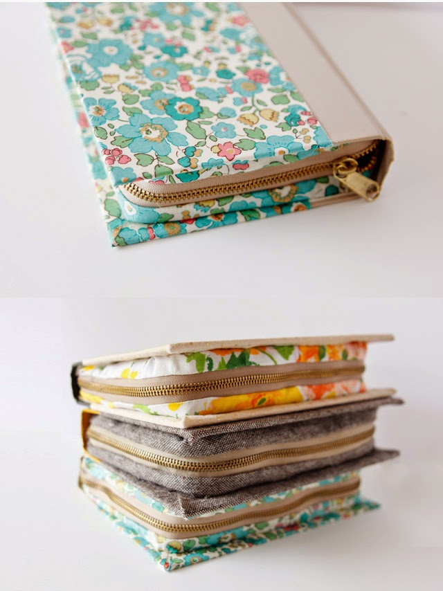 Diy Zipper Book Clutch The Idea King