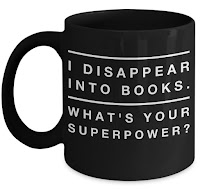 I Disappear Into Books What's Your Superpower Bookworm Mug - Gift Ideas for Bookworms and Book Lovers Gift Guide