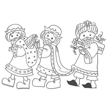 Dibujos Reyes Magos  Compartiendo por amor