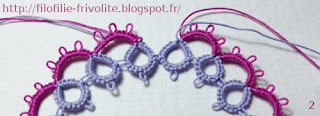 Tutoriel arceau double crochetage split chain