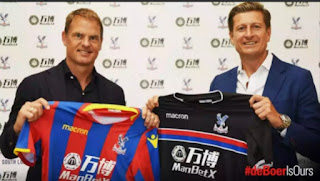 Frank De Boer new Crystal palace manager