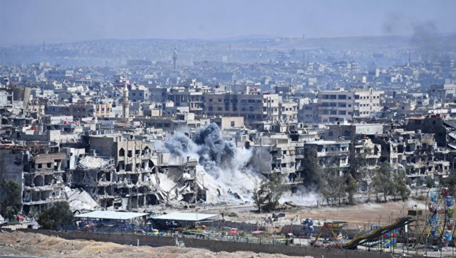 Perancis siap menyerang jika terjadi penggunaan senjata kimia di Suriah