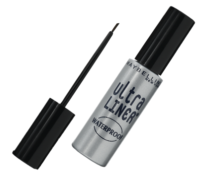 ultra liner waterproof liquid liner maybelline