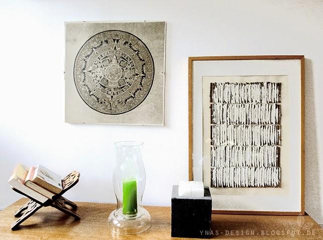 Ynas Design Blog, Art, Bilder, Holz und Gips