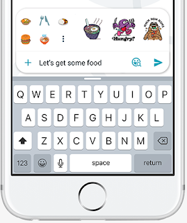 Google Allo Emoji and Stickers Prediction