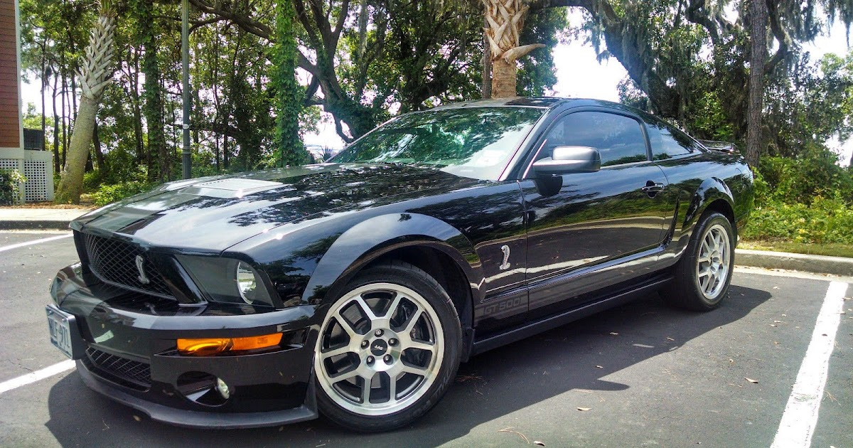 2008 Ford Mustang Shelby GT500 5.4L Supercharged