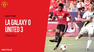 HT: LA Galaxy vs Manchester United 0-3 plus Video Gol