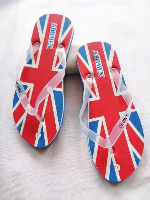 Sandal Jepit Sablon Amerika